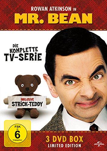 Mr. Bean - Die komplette TV-Serie (Limited Edition, inklusive Strick-Teddy, 3 DVDs) für 9,97€ [Amazon Prime]