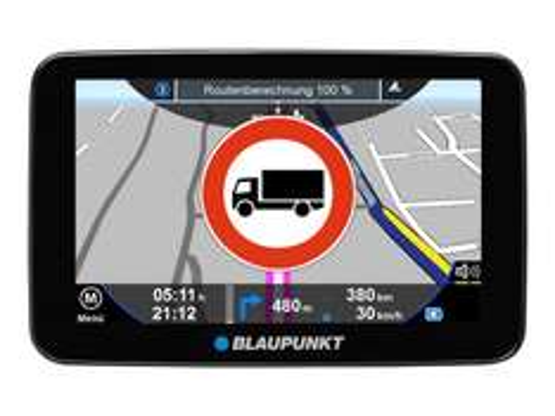 [Crowdfox] Blaupunkt TravelPilot 52 Truck EU LMU Navigationssystem (12,7 cm (5 Zoll)