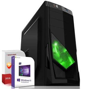 """Gamer PC"" AMD A10 7800 mit integrierter Radeon R7, 16GB DDR3, 320GB HDD&120GB SSD und Win10"