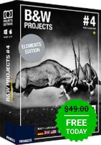 Giveaway of the day — Black&White projects 4 elements