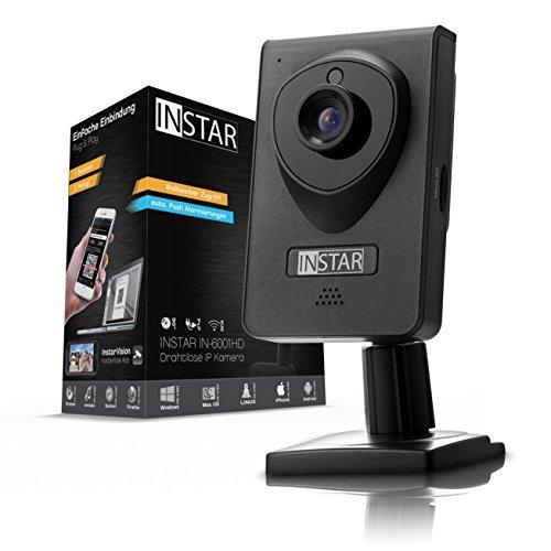 [Amazon.de] Instar IN.6001 HD IP Kamera schwarz/ WLAN/ Nachtsicht/ Bewegungserkennung
