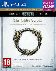 The Elder Scrolls Online: Tamriel Unlimited Crown Edition (PS4) für 14,93€ inkl. VSK (Game UK)