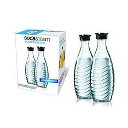 [Prime] SodaStream DuoPack Glaskaraffe (2 x 0,6L) spülmaschinenfest