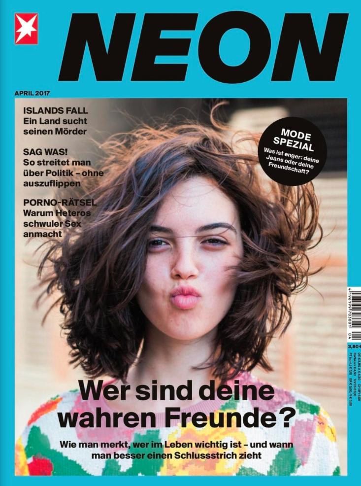 Ein Jahr NEON lesen (12 Ausgaben) für 44€ mit 35€-Prämie