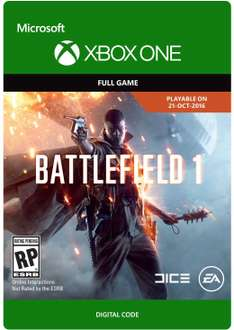 Battlefield 1 (PS4/Xbox One) für 28,38 Euro (Amazon.com)