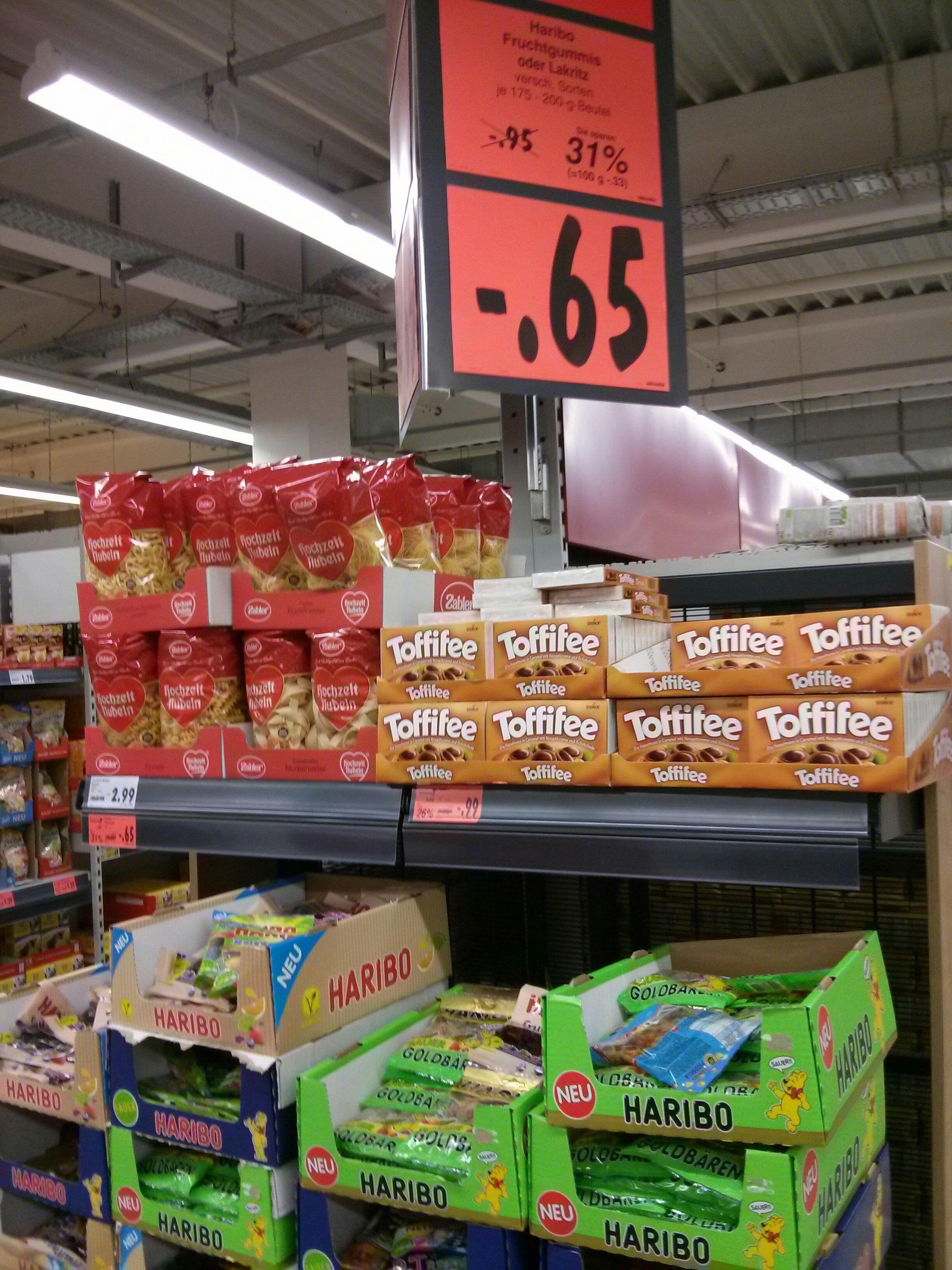Haribo verschiedene Sorten 0,65 € Kaufland (bundesweit)