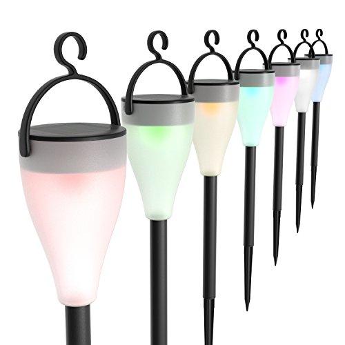[AMAZON Prime] Aglaia LED-Solarleuchten für den Garten LED - 6 Stück (Nur noch HEUTE!!!)