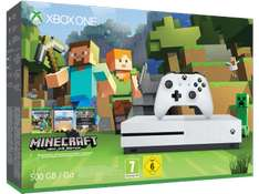 ( Saturn ) Microsoft Xbox One S 500GB Konsole - Minecraft Bundle für 229,-€