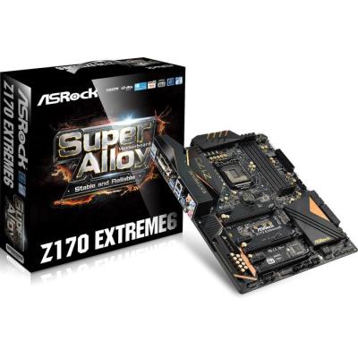 [NBB] ASRock Z170 Extreme6 Mainboard, Intel Sockel 1151, 4x DDR4 DIMM, 2x SATA Express, 2x USB 3.1 für 137,98€