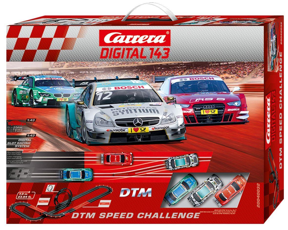 [duo-shop] Carrera Digital 143 DTM Speed Challenge für 100,05 Euro