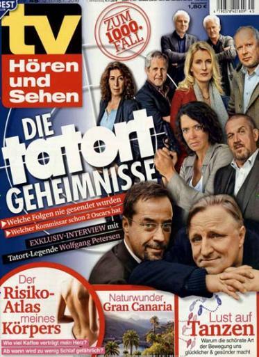 52x TV Hören und Sehen für effektiv 6,60€ durch 100€ amazon.de Gutschein bei 106,60€ Abokosten (pro Ausgabe 12 Cent)