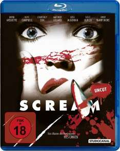 [amazon.de] Scream 1 - Uncut [Blu-ray] inkl. Versand 3,52 €
