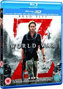 World War Z 3D (3D Blu-ray + Blu-ray) für 7,69 bei Base.com