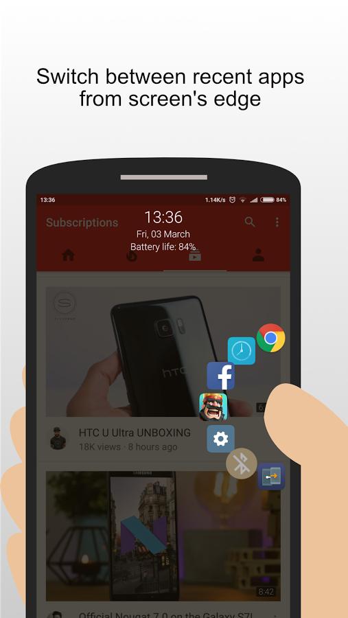 [am 9. März] Swiftly Switch Pro - Android App zur einhändigen Bedienung €0,00 statt €2,19.