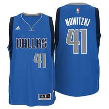 Dirk Nowitzki NBA Dallas Mavericks adidas Trikot -30%