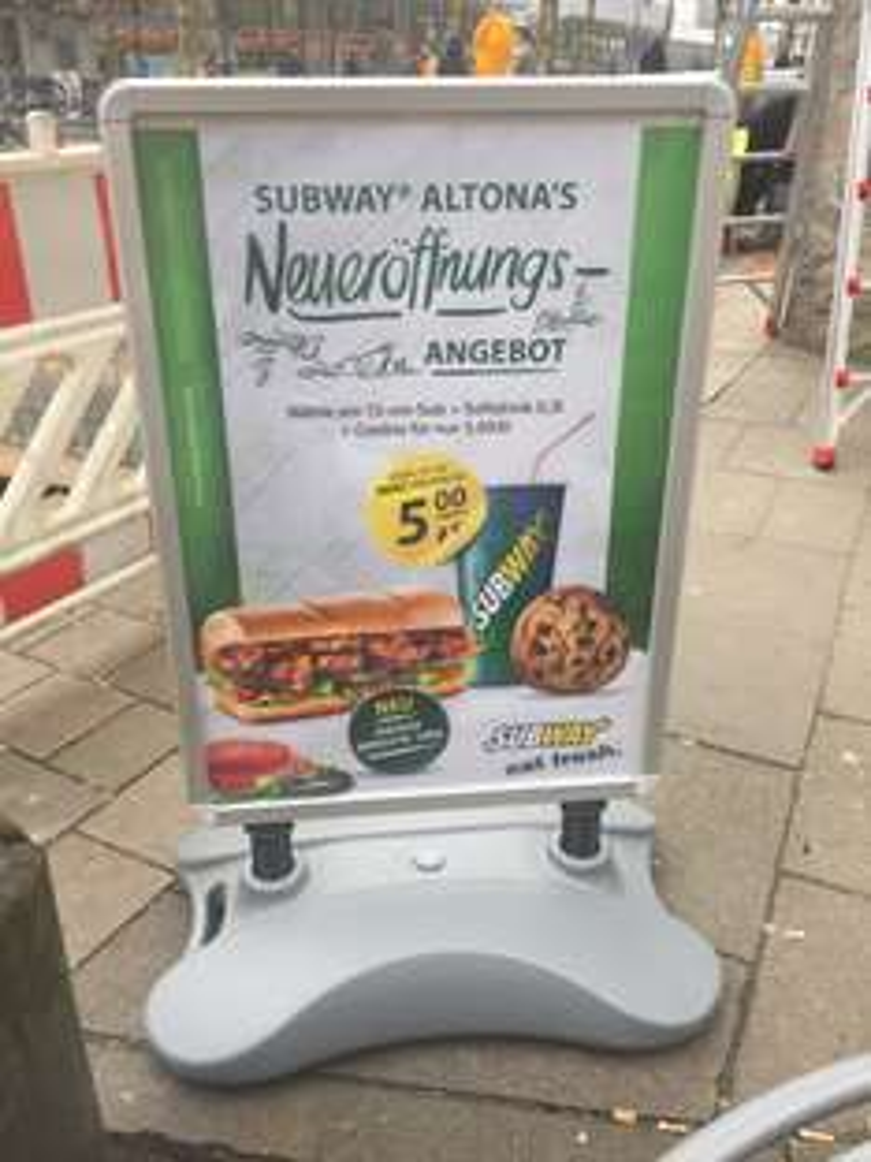 [LOKAL Hamburg Altona] Subway: Eröffnungsangebot