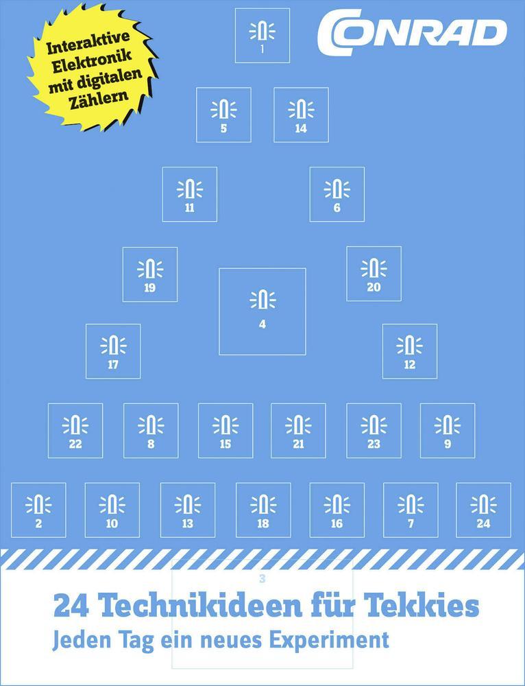 antizyklisch kaufen (oder einfach basteln): Conrad Aventskalender 2016 für 4,49€, Arduino Adventskalender für 9,99€ & Internet of Things Adventskalender für 19,45€ [Conrad]