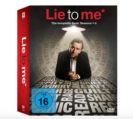 Lie to me - Die komplette Serie (DVD) für 20,49€ (Thalia)