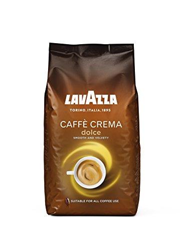 Lavazza Caffè Crema Dolce Kaffeebohnen, (1 x 1kg) 9,99 für Prime Kunden