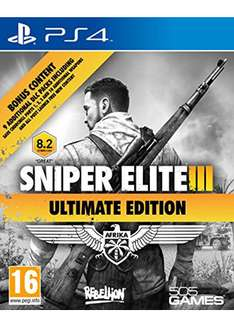 Sniper Elite 3 – Ultimate Edition (PS4) für 18,22€ inkl. VSK (Base.com)
