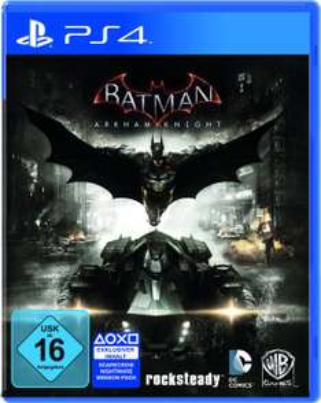Batman: Arkham Knight Sonder Edition (AT-PEGI) für 22,98€ inkl. VSK (Gameware)