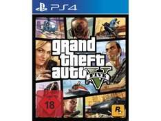 GTA 5 - Grand Theft Auto V - PlayStation 4 Xbox One im Saturn 27,99 inkl. Versand