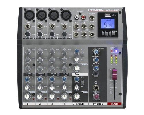 Amazon Deal: Phonic AM 440 DP DJ-Mixer - Audio-Mixer für nur 77,45