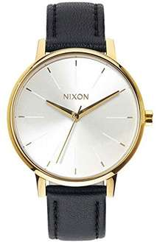 Amazon WHD  Nixon Leder Damen Armbanduhr Kensington [gebraucht-gut] 44,82€ statt 109,99€