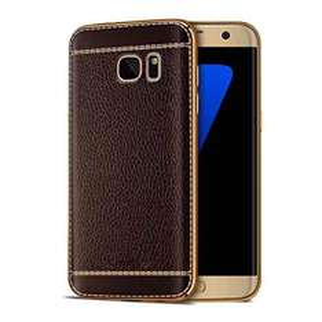 Amazon: Samsung Galaxy S7 edge Leder Style Schutzhülle TPU