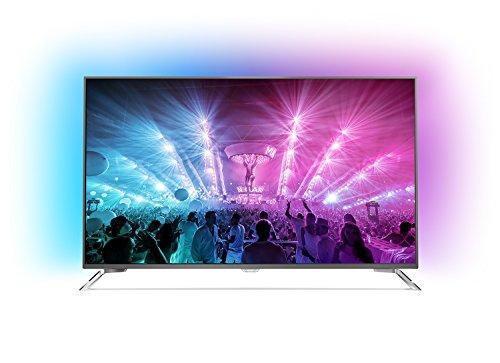 Philips 49PUS7101/12 124,5 cm (49 Zoll) Ultraflacher Android 4K-Fernseher (3-seitigem Ambilight und PixelPrecise Ultra HD) für  784,93€ versandkostenfrei [bei Amazon - Derzeit nicht auf Lager!]
