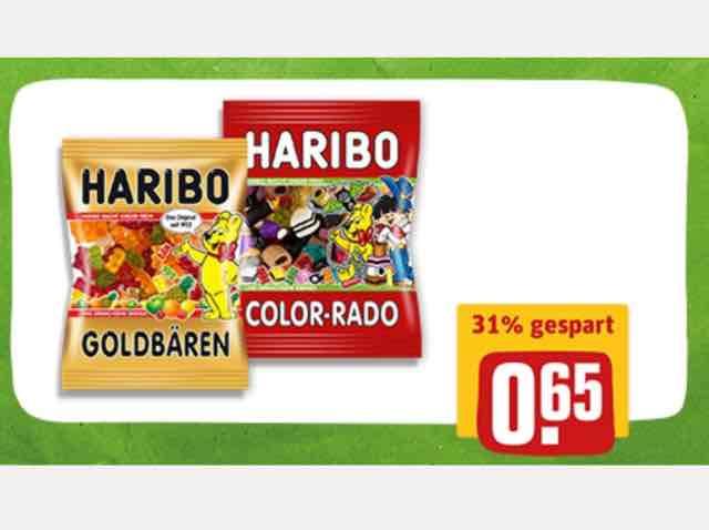 [Rewe] Haribo für 0,65€ und Reminder an Rewe Payback Aktion