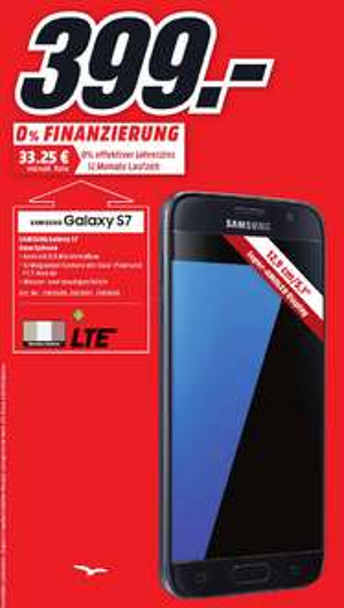 [Lokal Hamburg Mediamarkt] Samsung Galaxy S7 399€