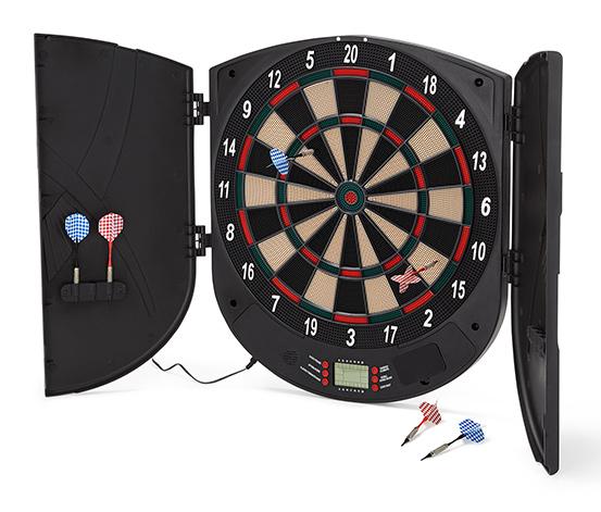 [Tchibo] Elektronisches Dartspiel, 26 verschiedene Spielmodi, Display mit englischer Punkteanzeige + 8% shoop