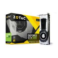 Zotac GTX 1080 FOUNDERS EDITION 488,99€ bei Cyberport lieferbar ab 16.03. inkl. For Honor od. Ghost Recon