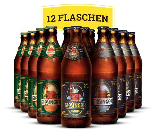 Craft Beer: Giesinger Bier Bundle mit MHD April 2017 für 12€ zzgl. Versand & Pfand