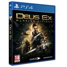 Deus Ex: Mankind Divided - Day One Edition (Xbox One & PS4 AT) für 14,84€ inkl. VSK oder Deus Ex: Mankind Divided - Day One Steelbook Edition (Xbox One & PS4 AT) für 15,83€ inkl. VSK (Games2Game)