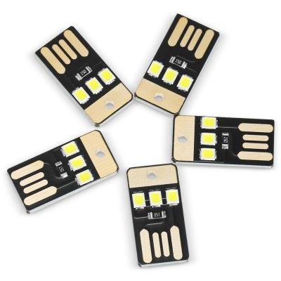 5 USB LEDs für 0.09€ [gearbest]
