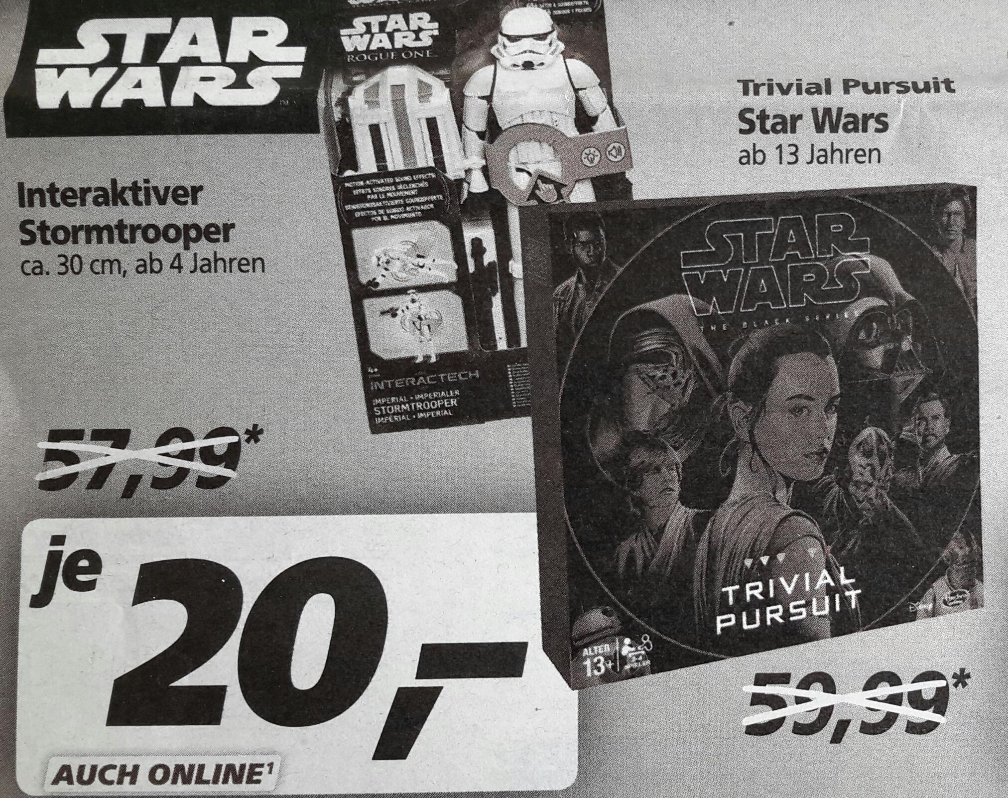 [Real on- und offline] Trivial Pursuit Star Wars von Hasbro für 20,00 € ab 13.03.17