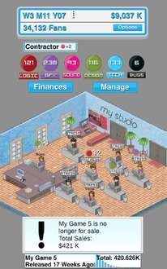[PlayStore] Game Studio Tycoon - gratis statt 2,19€