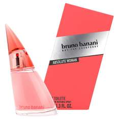 Bruno Banani Absolute Woman Eau de Toilette Natural Spray, 40 ml [Amazon Prime]