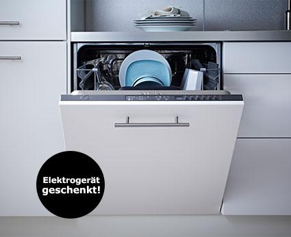 IKEA - Ab 2500 Euro Küchenkauf ein Elektrogerät im Wert von 299 Euro geschenkt (5000 / 499)