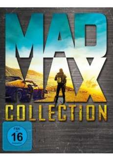 Mad Max Collection (Mad Max 1-4 inkl. Fury Road) (Blu-Ray) für 19,93€ Inkl. VSK (Alphamovies)