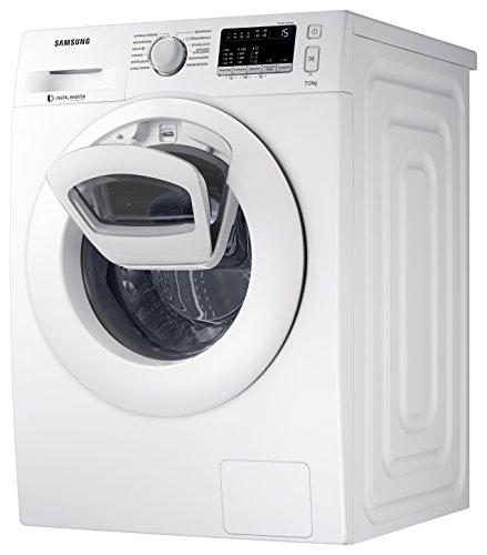 Samsung WW80K4420YW für 413,90€ + 50€Cashback@ Amazon Prime - 8kg Waschmaschine mit AddWash und Inverter Motor