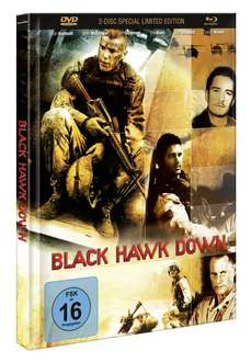 Black Hawk Down (Slim Mediabook Limited Special Edition) (Blu-Ray + DVD) für 9,99€ inkl. VSK (JPC)