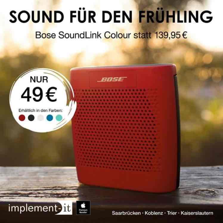 [lokal] implement-IT Bose SoundLink Colour 49,- €