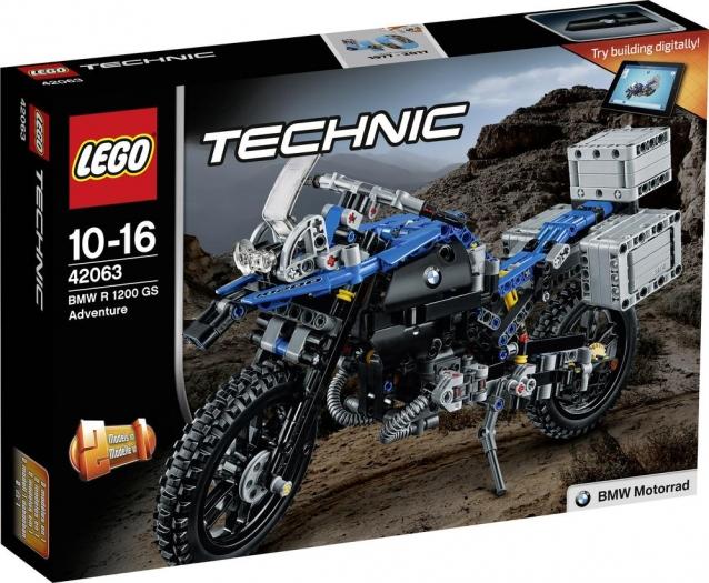 LEGO Technic 42063 BMW R1200 mit Gutschein für nur 34,44€ inkl. Versand [SMDV]