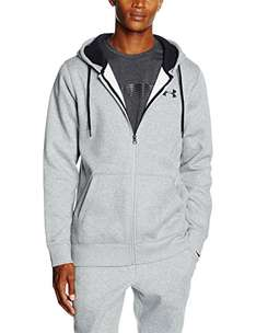 Under Armour CC Storm Rival Full-Zip Hoody in Grau - Größe L