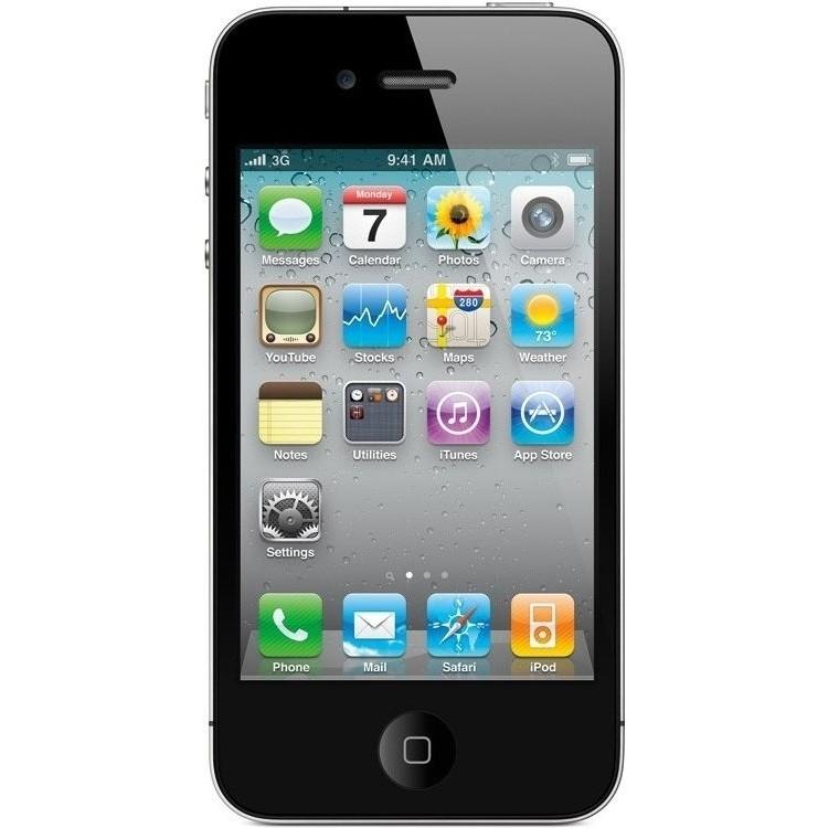 iPhone 4 - 8GB schwarz (neuwertige B-Ware) für 49€ (Idealo neu: 119,90€)