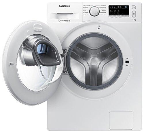 Samsung WW80K4420YW für nur noch 374,00€ + 50€ Cashback @ Amazon - 8kg Waschmaschine mit AddWash und Inverter Motor
