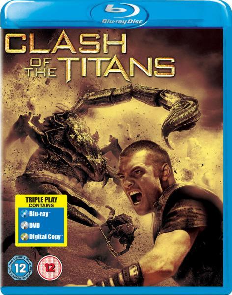 Kampf der Titanen (2010) Triple Play [zavvi.de]